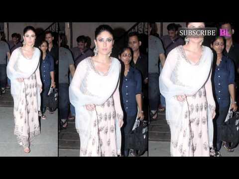 Kareena Kapoor rocks a Manish Malhotra outfit on t