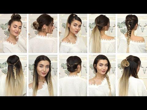 Braid hairstyles - 10 BRAIDED HEATLESS HAIRSTYLES IDEAS FOR WINTER! AD