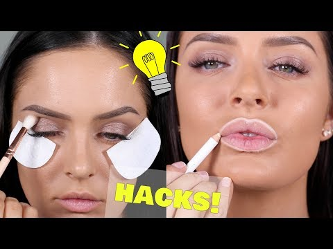 16 Best Makeup & Beauty Hacks 2017! Chloe Morello