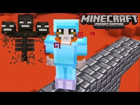Minecraft: Pocket Edition - Battle Day! - No Home Challenge