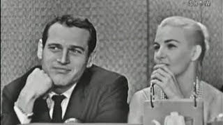 Video What's My Line? - Paul Newman & Joanne Woodward; Art Linkletter [panel] (Nov 8, 1959) MP3, 3GP, MP4, WEBM, AVI, FLV Maret 2019