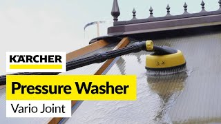 For all your Karcher spares visit: http://bit.ly/2bmXDCYThis useful accessory allows the nozzle or tool attached to your pressure washer to be angled to allow cleaning into an area you could not normally reach.