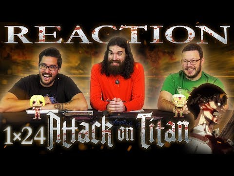 "Attack on Titan 1x24 REACTION!! ""Mercy: Assault on Stohess, Part 2"""