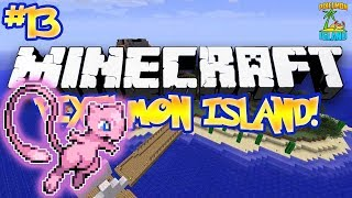 """MEW IS BAD?!"" - PIXELMON ISLAND ADVENTURE! (Minecraft Pokemon Mod) - #13"