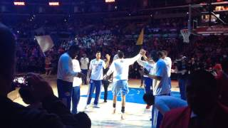 Los Angeles Clippers 2013-2014 Intro (from behind the bench)