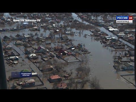 Волгоградские железнодорожники готовятся к паводку (29.03.2019)