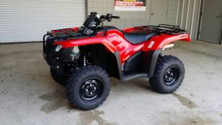 10. 2016 Honda FourTrax Rancher 420 AT DCT IRS ATV Walk Around Video | TRX420FA5G