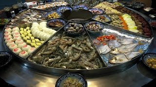 Ningbo China  city photo : Chinese Seafood Steam Table