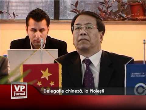 Delegaţie chineză, la Ploieşti