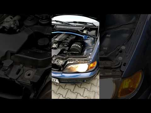 Bmw  E46 320i motor sound Air Intake (Ramair)