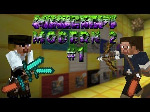 Minecraft: Прохождение карты Modern 2 (Серия 1)