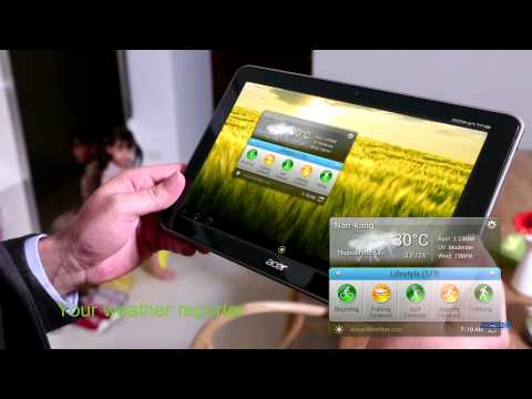 Acer ICONIA TAB A210 In touch and feeling good!