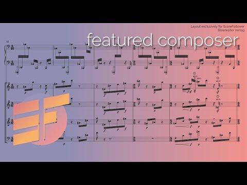 Beat Furrer — spur [w/ score] (видео)