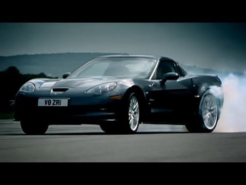 ZR1 - NEW HD VERSION OF THIS CLIP HERE http://bit.ly/16lZykK Jeremy Clarkson heads out on to the Top Gear track for motoring's equivalent of the Ryder Cup as Ameri...