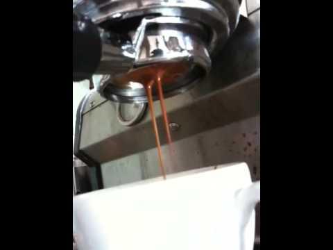 Starbucks Barista Uses Slayer Espresso Machine