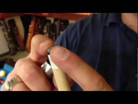 How to use a Tip Pick (like the Cuetec Bow-Tie)