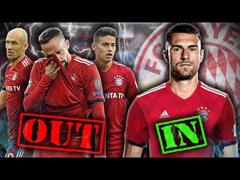 REVEALED: Bayern Munich To Offload 3 Superstars & Sign Aaron Ramsey! | #ContinentalClub