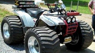 8. 1995 Yamaha Wolverine Pulling ATV