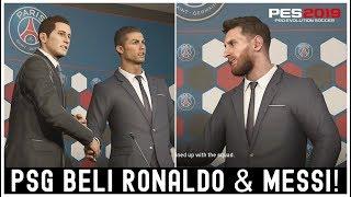 Video PES 2019 Master League Indonesia: Bisakah PSG Mendatangkan Cristiano Ronaldo & Lionel Messi?! MP3, 3GP, MP4, WEBM, AVI, FLV Maret 2019