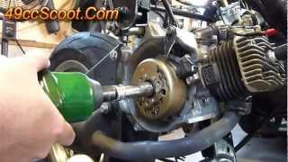 10. Scooter Flywheel Removal With The Proper Tools (Flywheel Puller)