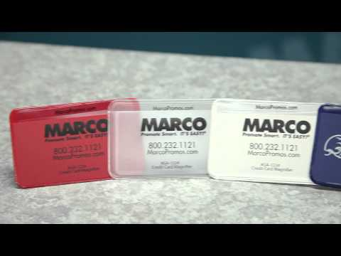 Credit Card Magnifier with Case – Pocket-Sized Promos – MARCO