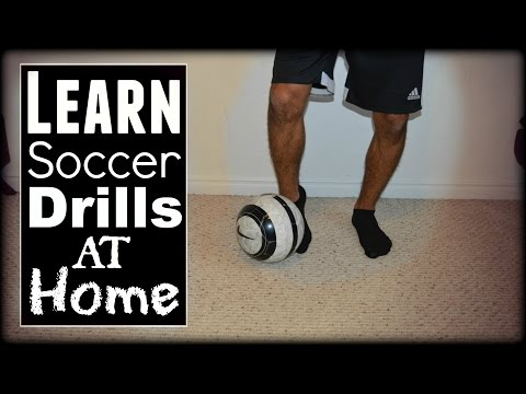 Soccer Drills At Home: Ball Control, Footwork & Passing Drills