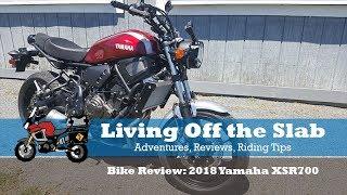7. 2018 Yamaha XSR700, Bike Review