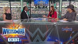 Nonton The Ultimate Thrill Ride begins with the WrestleMania 33 Kickoff panel: WrestleMania 33 Kickoff Film Subtitle Indonesia Streaming Movie Download