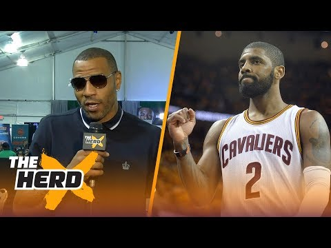 Kenyon Martin on what Kyrie Irving trade means for LeBron James, who won the deal | THE HERD
