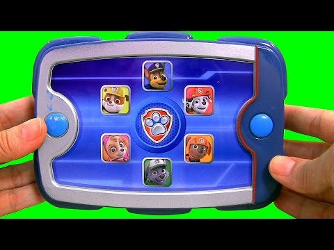 Paw Patrol Ryder's Puppy Pad with Chase, Marshall, Skyle, Rocky, Zuma, Rubble Nickelodeon toys