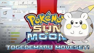 Togedemaru Moveset Guide! How to use Togedemaru! Pokemon Sun and Moon! by PokeaimMD