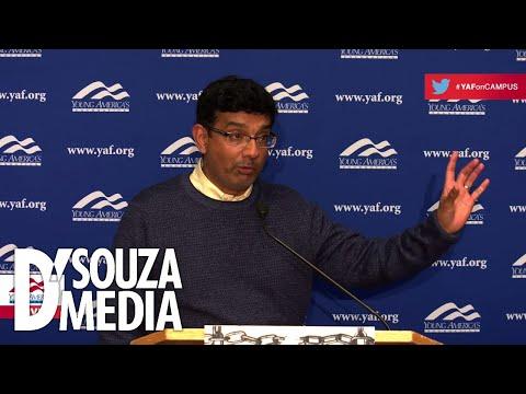 D'Souza DESTROYS pro-choice student's argument for abortion funding (видео)