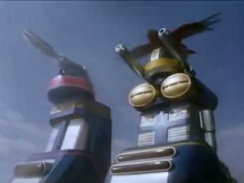 Power Rangers Zeo - All Megazord Transformations