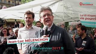 Video Jean-Luc Mélenchon soutient Paul Vannier MP3, 3GP, MP4, WEBM, AVI, FLV Mei 2017