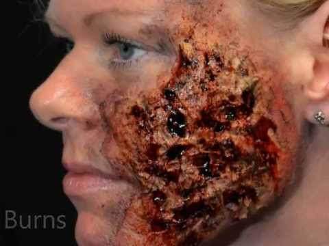 Video of Halloween Horror Makeup