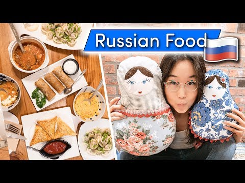 RUSSIAN FOOD in South Korea