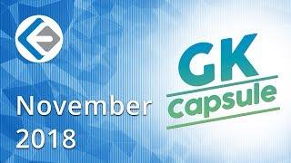 Video Endeavor GK Capsule | Current Affairs November 2018 MP3, 3GP, MP4, WEBM, AVI, FLV Desember 2018