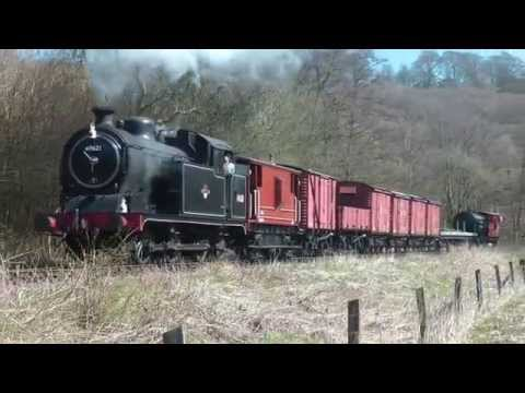 Farewell to N7 69621 at the Churnet Valley Railway 18th A...
