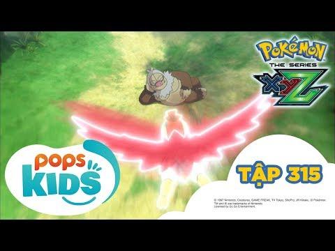 Pokémon Tập 315 - Trận bán kết! Satoshi đấu với Shota! - Hoạt Hình Pokémon Tiếng Việt S19 XYZ - Thời lượng: 21:33.