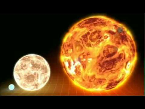 star - Discovery Channel shows Earth, compared to the Sun, and then to a few other massive stars in our own Milky Way.