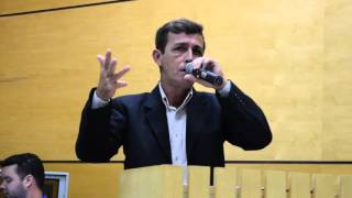 Discurso de Posse do Coordenador Geral Robson Luiz