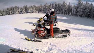 1. skidoo 380 mxz top speed (60 mph) +races