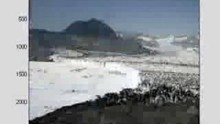 Timelapse of Columbia Glacier in Alaska