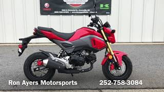 5. 2018 Honda Grom - ABS