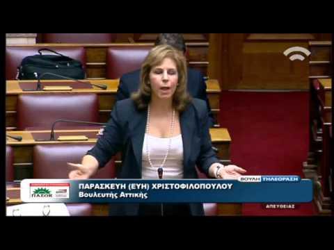 Η Εύη Χριστοφιλοπούλου για την ανατροπή στον προγραμματισμό του κοινοβουλευτικού ελέγχου