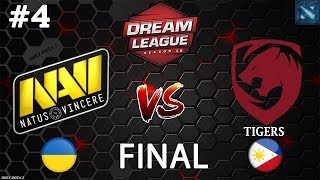 Na`Vi vs Tigers #4 (BO3) | DreamLeague Season 10