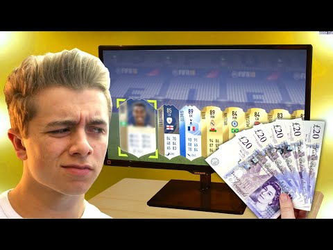 What Does Spending £5000 on FIFA 18 Packs Get You? (видео)
