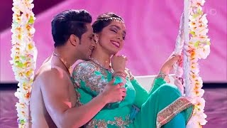 Russia's Got Talent   Bollywood KATHAK dance   Svetlana Tulasi & Kumar Sharma   Jag Ghoomeya Sultan