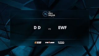 DD vs EWF, Game 1, The Kiev Major CIS Open Qualifiers