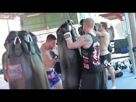 Muay Thai Kickboxing Trip to Thailand 2013   Elite Training Center